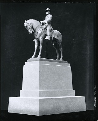 General Oliver O. Howard Equestrian Statue [sculpture] / (photographed by Peter A. Juley & Son)