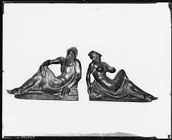 Book Ends [sculpture] / (photographed by Peter A. Juley & Son)