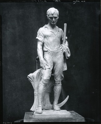 Robert Burns [sculpture] / (photographed by Peter A. Juley & Son)
