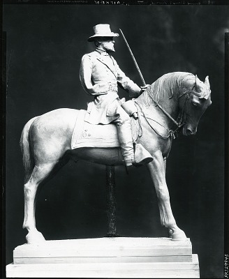 Model for General Oliver O. Howard Equestrian Statue [sculpture] / (photographed by Peter A. Juley & Son)