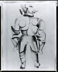 """Armour (study for """"Parade"""") [drawing] / (photographed by Peter A. Juley & Son)"""