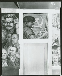 Portrait of America: Opponent of Nazism [fresco] / (photographed by Peter A. Juley & Son)