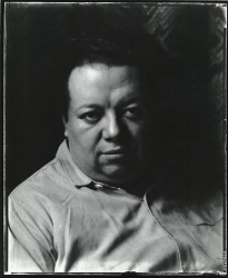 Diego Rivera, San Francisco, California [photograph] / (photographed by Peter A. Juley & Son)