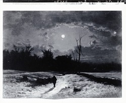 Winter Moonlight [painting] / (photographed by Peter A. Juley & Son)