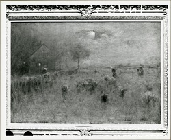 Moonrise in Montclair [painting] / (photographed by Peter A. Juley & Son)