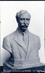 Ernest Schelling [sculpture] / (photographed by Peter A. Juley & Son)
