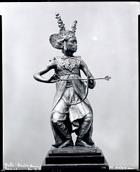 Bali Dancer [sculpture] / (photographed by Peter A. Juley & Son)