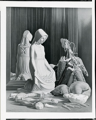 Thanksgiving [painting] / (photographed by Peter A. Juley & Son)