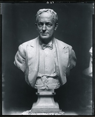 Thomas Hastings (sketch) [sculpture] / (photographed by Peter A. Juley & Son)