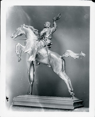 Theodore Roosevelt [sculpture] / (photographed by Peter A. Juley & Son)