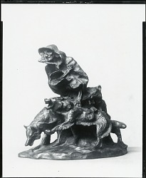 The Spirit of Winter [sculpture] / (photographed by Peter A. Juley & Son)