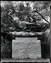 Moods of Time: Night [sculpture] / (photographed by Peter A. Juley & Son)