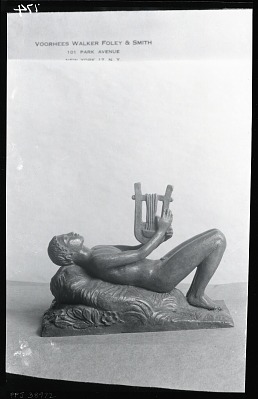 Orpheus [sculpture] / (photographed by Peter A. Juley & Son)