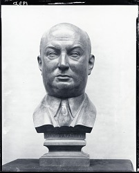 James A. Farley [sculpture] / (photographed by Peter A. Juley & Son)