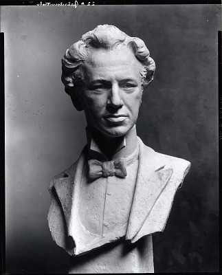 Ossip Gabrilowitsch [sculpture] / (photographed by Peter A. Juley & Son)