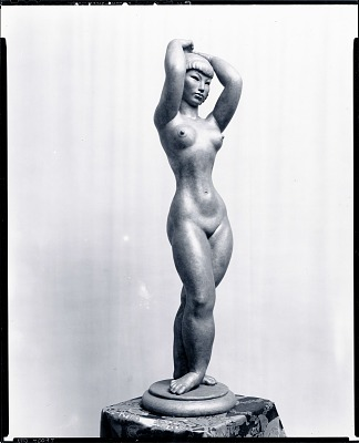 Orientale [sculpture] / (photographed by Peter A. Juley & Son)