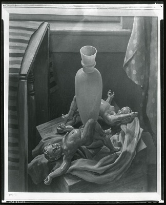 Angels and the White Vase [painting] / (photographed by Peter A. Juley & Son)