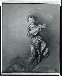 Still Life with Figurine [painting] / (photographed by Peter A. Juley & Son)