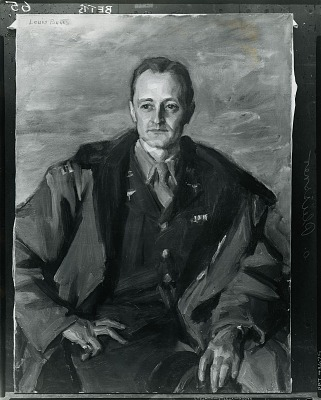 Ogden Pleissner [painting] / (photographed by Peter A. Juley & Son)