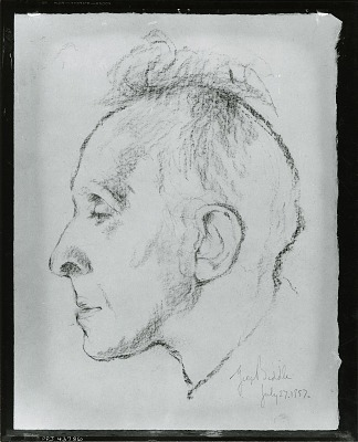 Portrait of a Man [drawing] / (photographed by Peter A. Juley & Son)