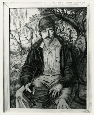 Fletcher Martin [painting] / (photographed by Peter A. Juley & Son)