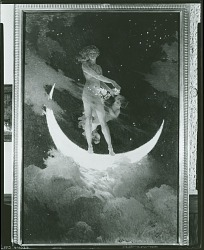 The Moon and the Stars [painting] / (photographed by Peter A. Juley & Son)