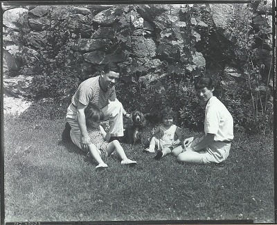 Robert Brackman with his family [photograph] / (photographed by Peter A. Juley & Son)