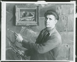 Self Portrait [painting] / (photographed by Peter A. Juley & Son)
