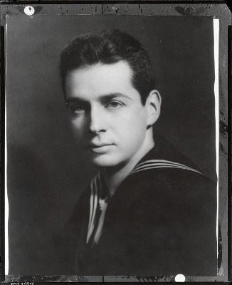 Ira Glackens in military uniform [photograph] / (photographed by Peter A. Juley & Son)