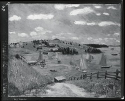 Sailboats and Sunlight [painting] / (photographed by Peter A. Juley & Son)