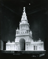 Model for Arch [sculpture] / (photographed by Peter A. Juley & Son)
