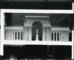 Model for Arch and Sculpture [sculpture] / (photographed by Peter A. Juley & Son)