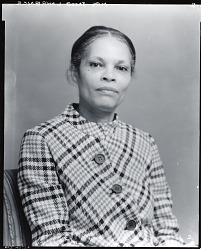 Mrs. Jacob Lawrence [photograph] / (photographed by Peter A. Juley & Son)