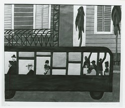 Bus [painting] / (photographed by Peter A. Juley & Son)