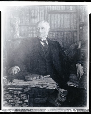 William Van Duzer Lawrence [painting] / (photographed by Peter A. Juley & Son)