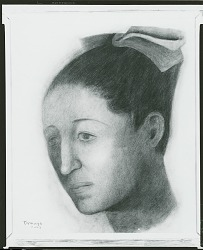 Portrait of Olga [drawing] / (photographed by Peter A. Juley & Son)