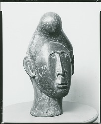 Cabeza, [sculpture] / (photographed by Peter A. Juley & Son)