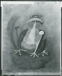 The Frog [painting] / (photographed by Peter A. Juley & Son)