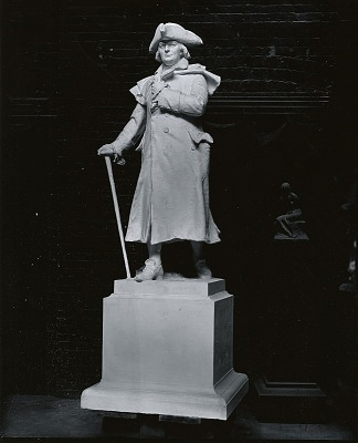 Model for Robert Morris [sculpture] / (photographed by Peter A. Juley & Son)