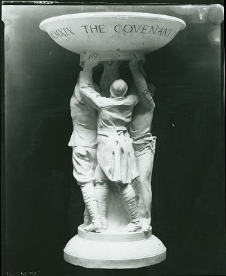 Model for League of Nations Fountain [sculpture] / (photographed by Peter A. Juley & Son)