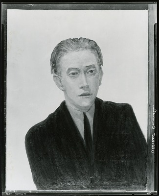 Portrait of Albert Carroll [painting] / (photographed by Peter A. Juley & Son)