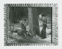 The Sap Gatherers [painting] / (photographed by Peter A. Juley & Son)