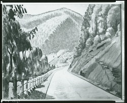 Appalachian Highway [painting] / (photographed by Peter A. Juley & Son)