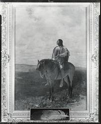 Indian Chief [painting] / (photographed by Peter A. Juley & Son)