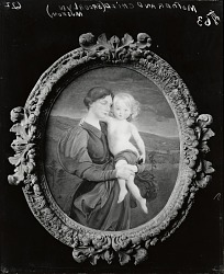 Mother and Child: A Modern Madonna [painting] / (photographed by Peter A. Juley & Son)