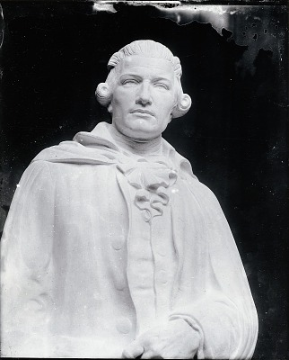 Model for Thomas Abbey [sculpture] / (photographed by Peter A. Juley & Son)