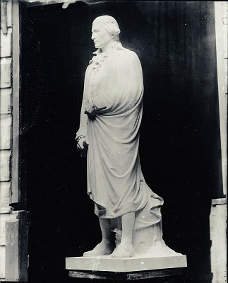 Model of Thomas Abbey [sculpture] / (photographed by Peter A. Juley & Son)