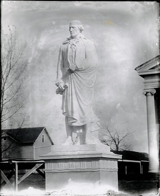 Thomas Abbey [sculpture] / (photographed by Peter A. Juley & Son)
