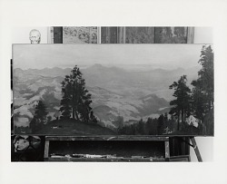 California Mountain Scene [painting] / (photographed by Peter A. Juley & Son)