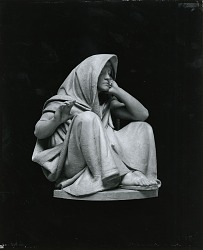 Robed Figure [sculpture] / (photographed by Peter A. Juley & Son)